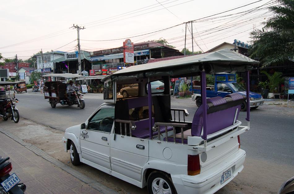 Tuk-tuk in Sihanoukville Cambodia