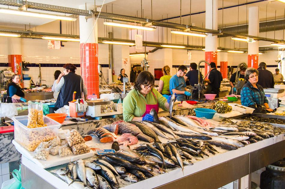 Municipal market Costa Nova