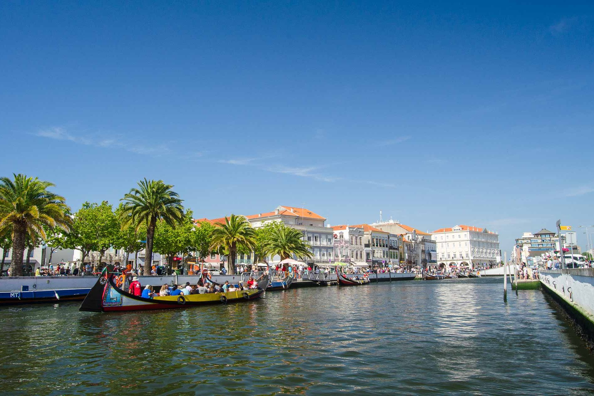 Traveling in Aveiro