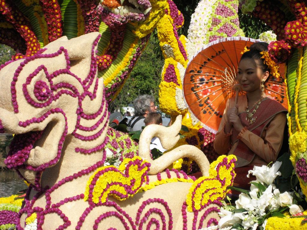 Chiang Mai flower parade