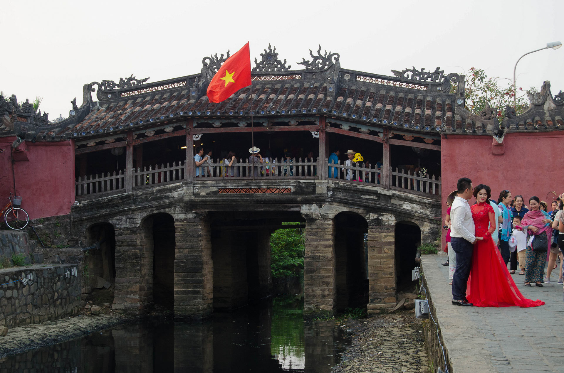 Hoi An's Japanese covered bridge