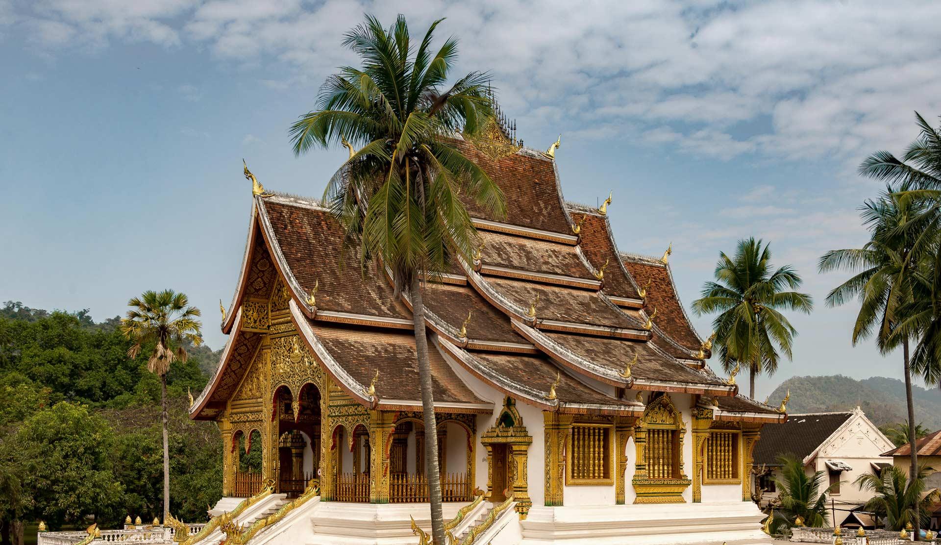 Temple visit in Luang Prabang