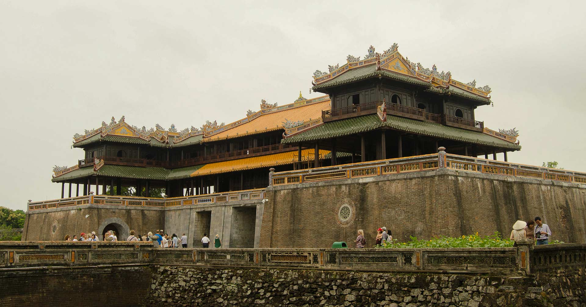 Imperial City gate in Hue