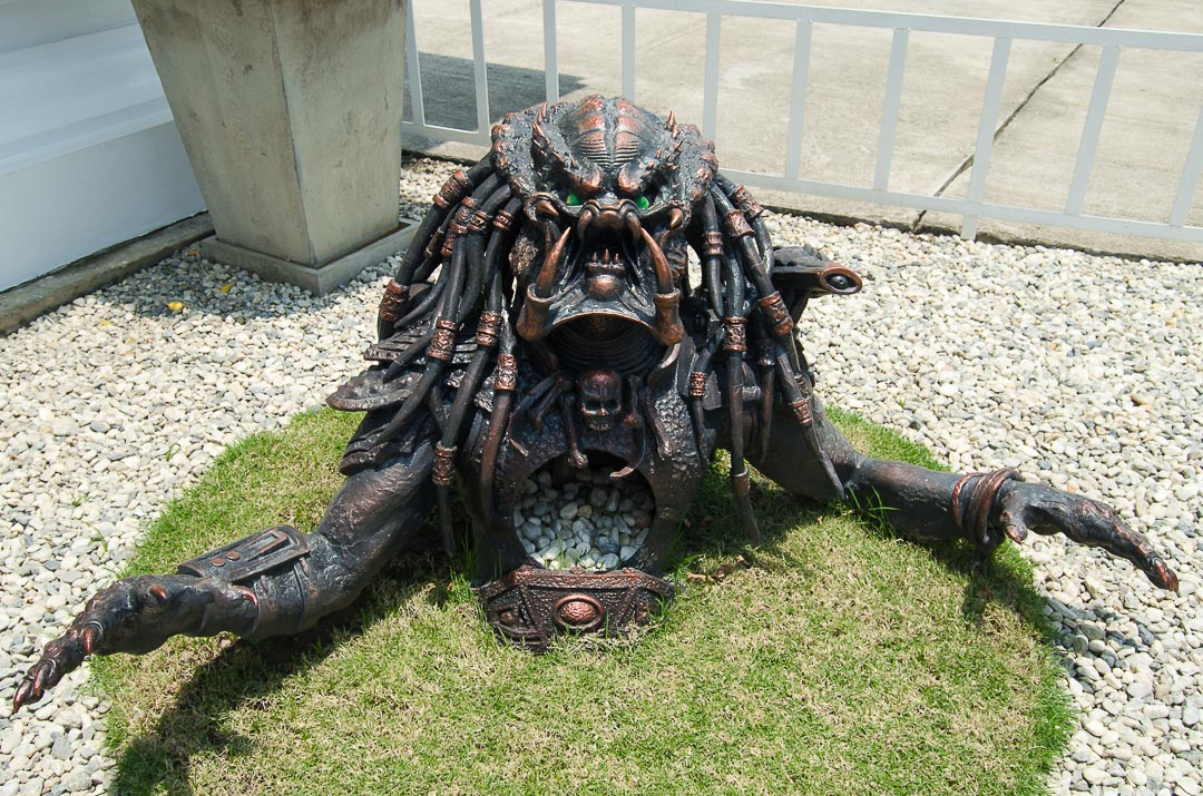 Predator sculpture
