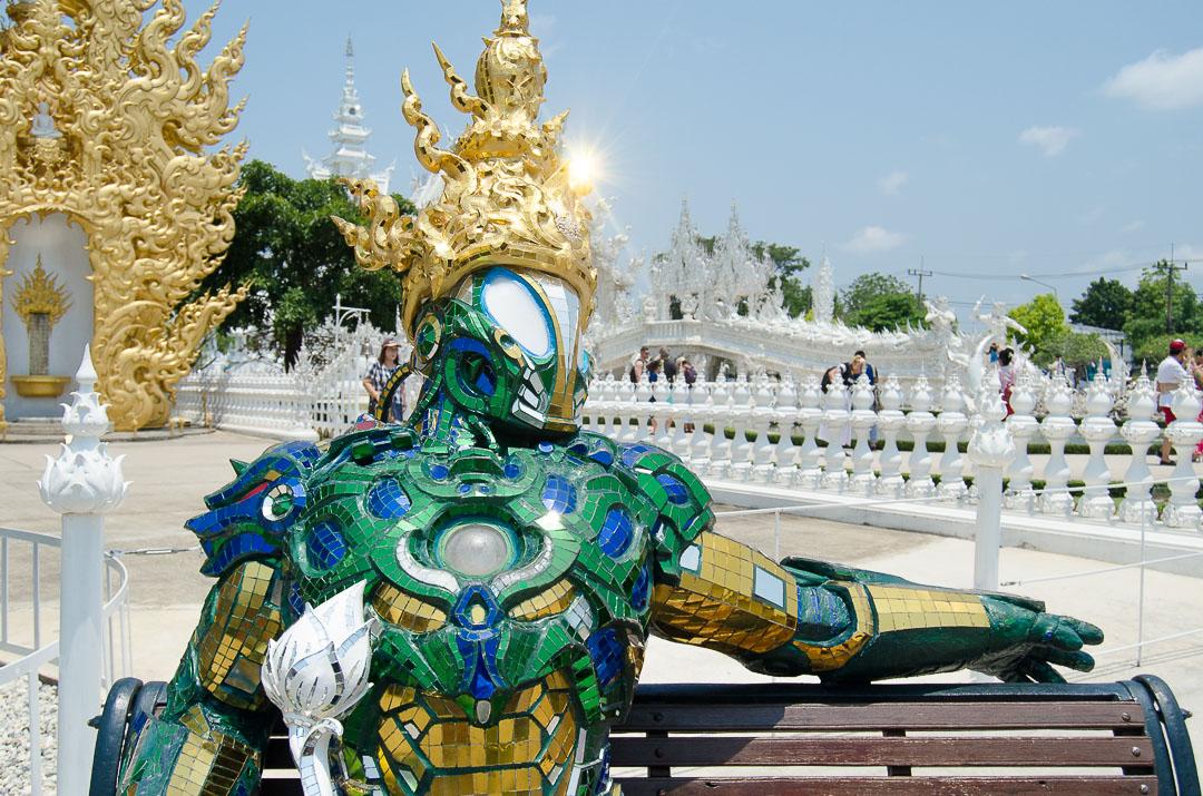 Robot Sculpture Wat Rong Khun