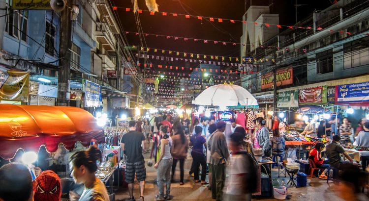 Chiang Rai night markets