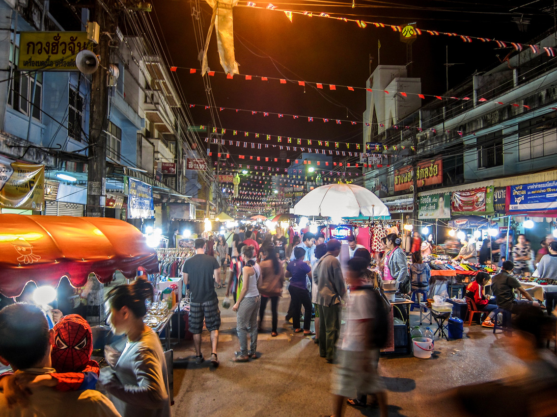 Quick Guide To Chiang Rai Night Markets Planetgravy