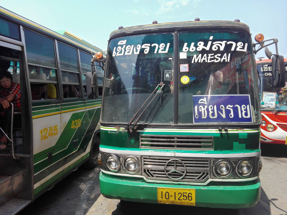 Green Bus Chiang Rai