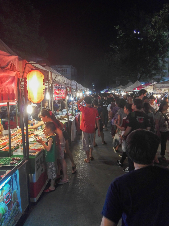 Stalls at Saturday Night Market Chiang Rai