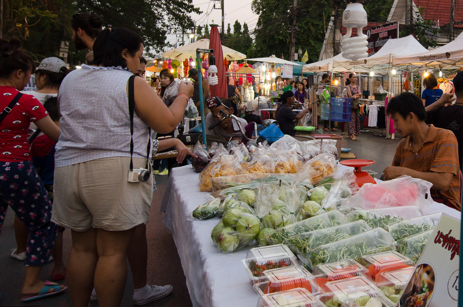 Fresh fruit at Night Market