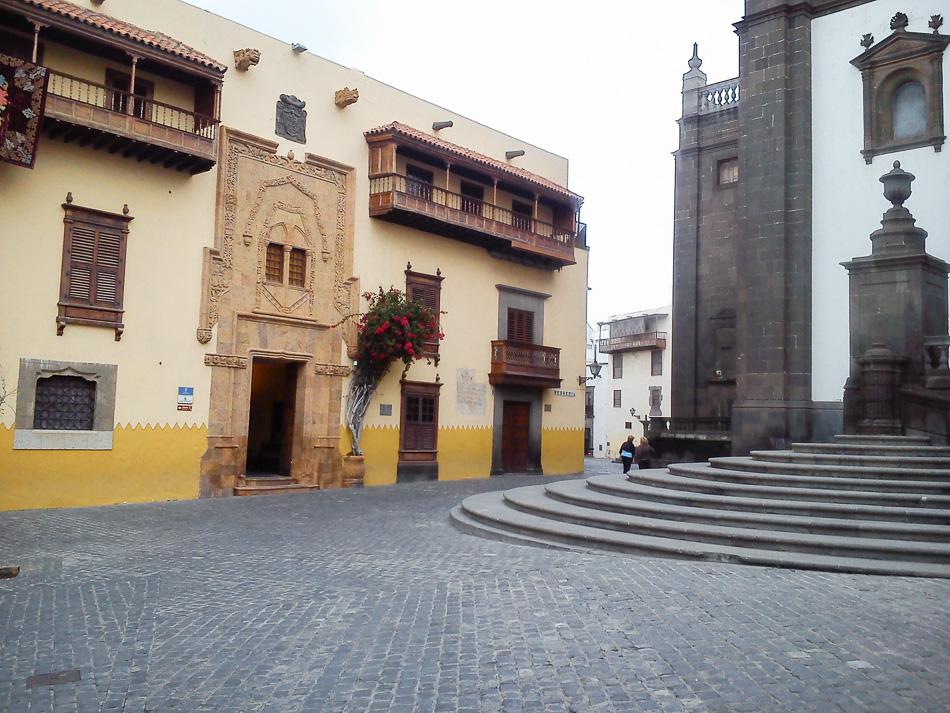 Casa de Colón in Vegueta, Gran Canaria