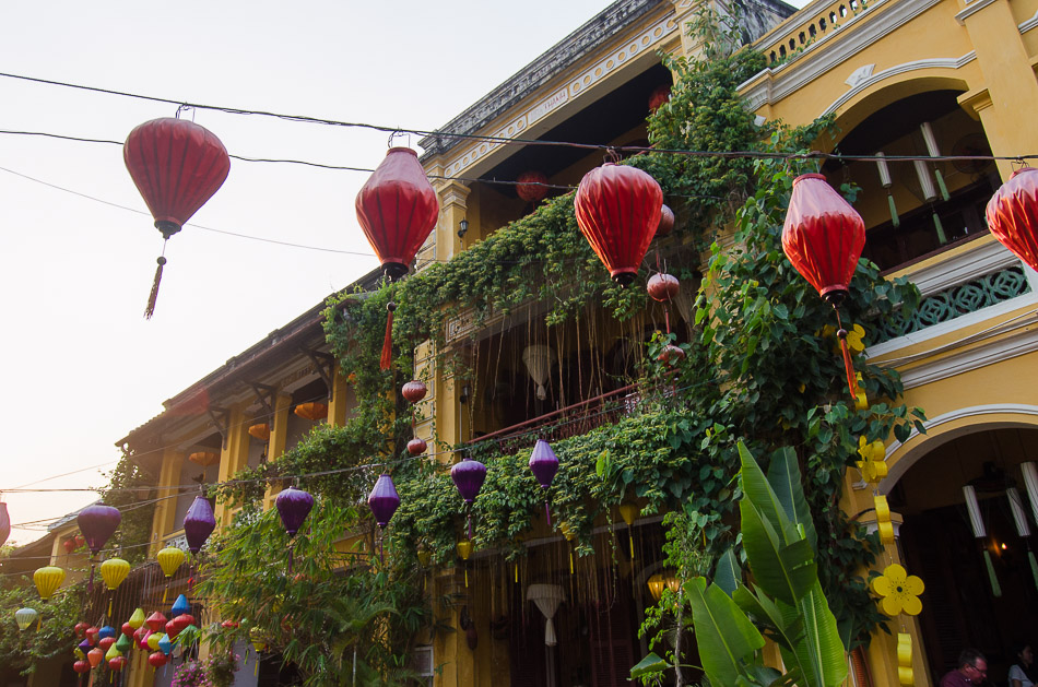Paper lanterns in Hoi An