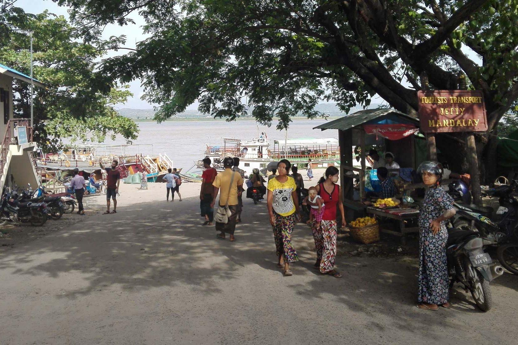 Mandalay City Riverfront
