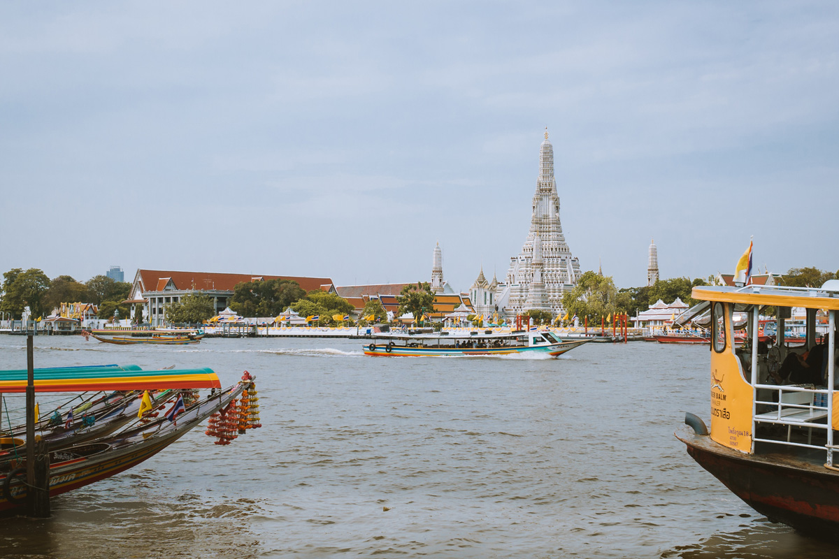 Ferry Boat to Wat Arun
