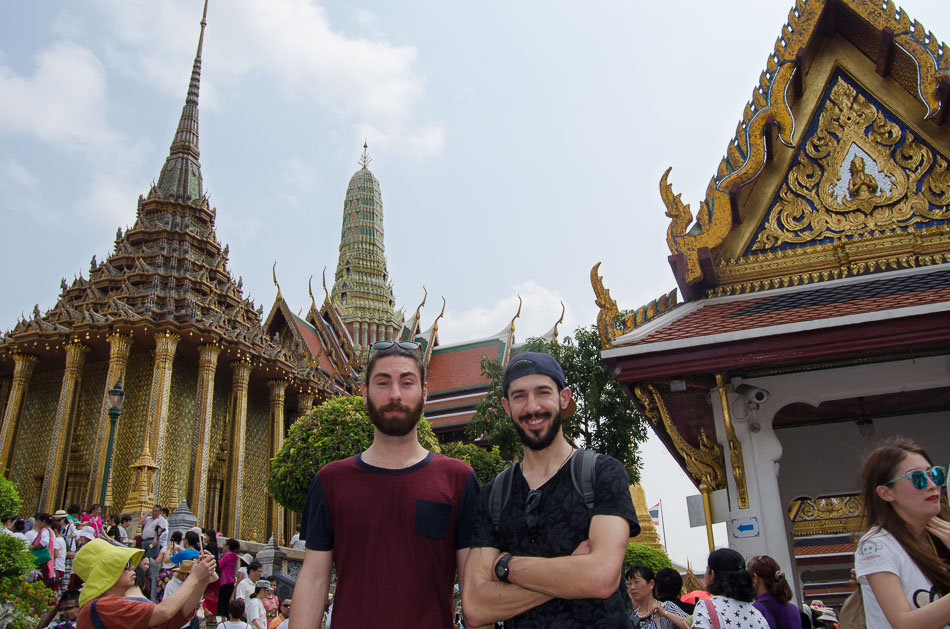 Mario and Nuno in the Grand Palace