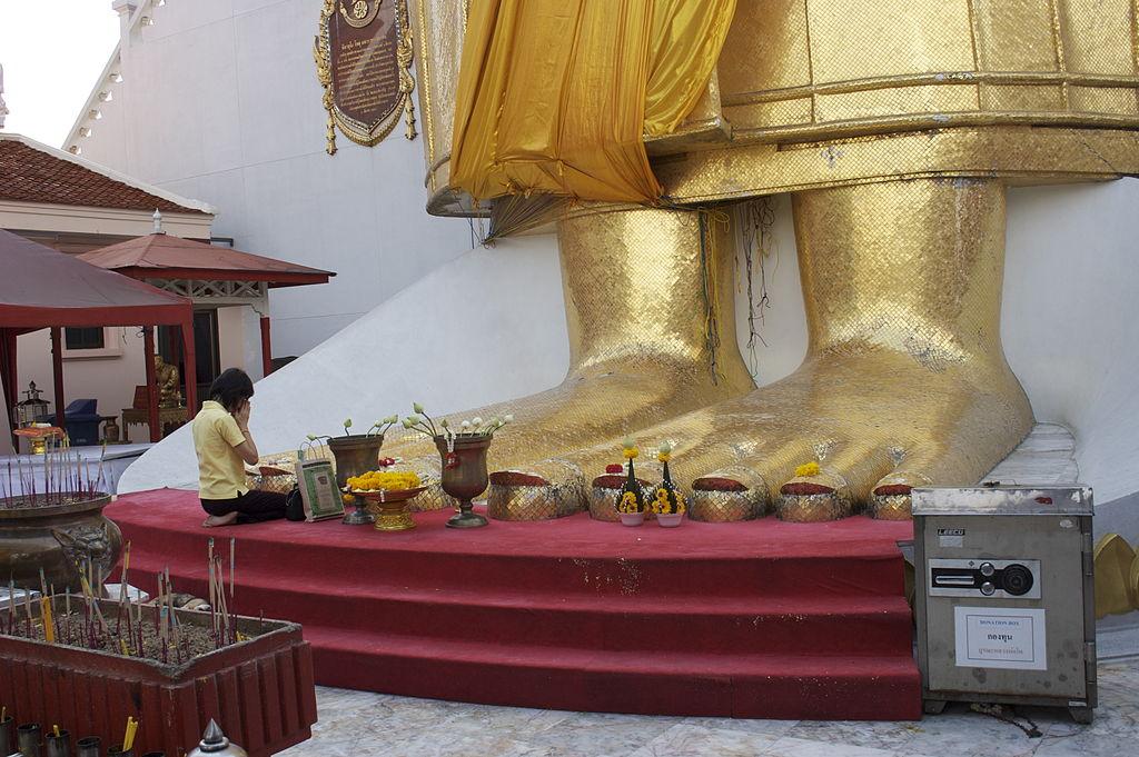 Big Standing Buddha in Bangkok