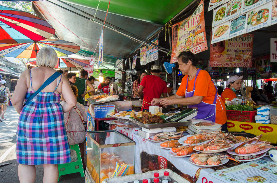 Chatuchak Market Food Stalls