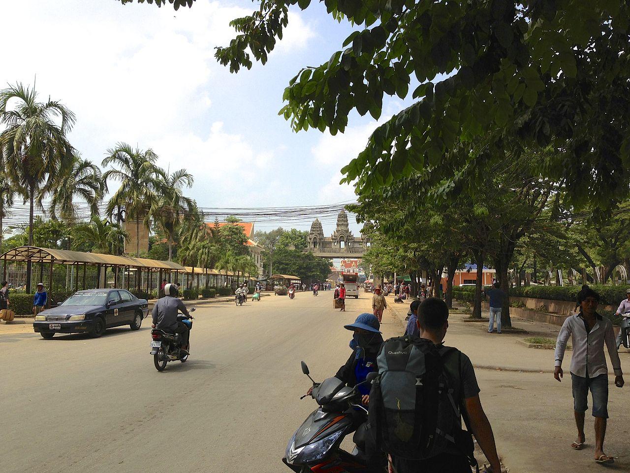 Aranyaprathet Thailand to Cambodia Land border