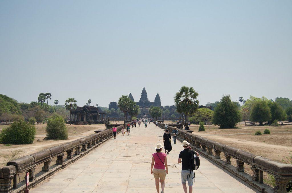Ankor Wat entrance