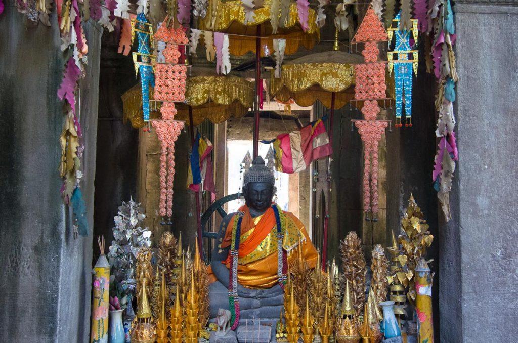 Buddha Shrine at Angkor
