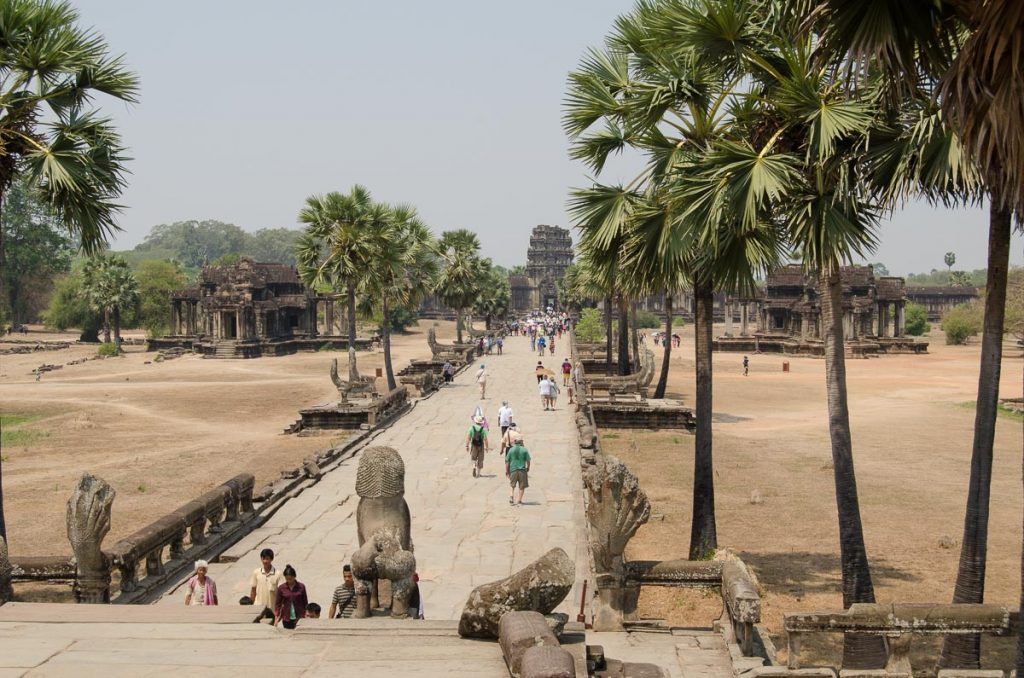 Angkor Wat Terrace of Honor