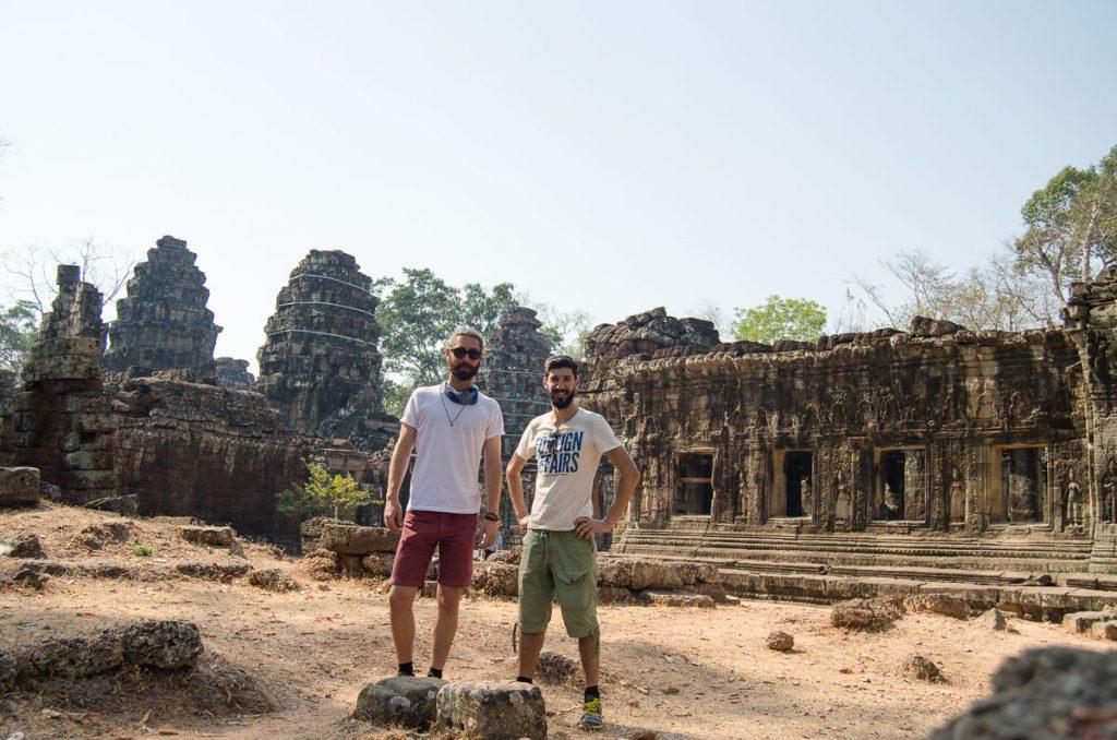 Mario and Nuno Siem Reap Cambodia