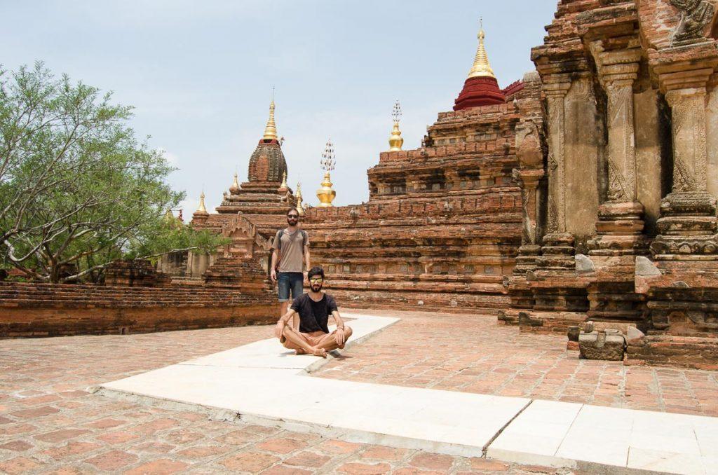 Nuno and Mario in Bagan